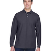 Men's Pima Piqué Long-Sleeve Polo