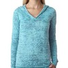 Ladies' Burnout Hoody